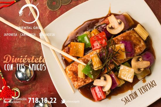 Oriental Grill: Salmón Teriyaki