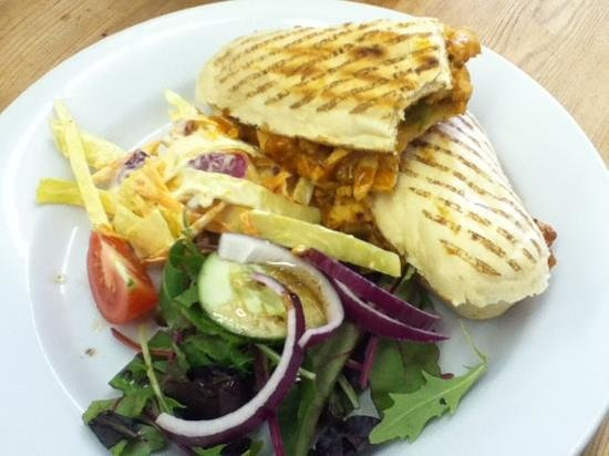 Sugar & Spice Cafe: Peri peri chicken panini
