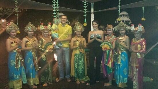 Anantara Seminyak Bali Resort: Dinner