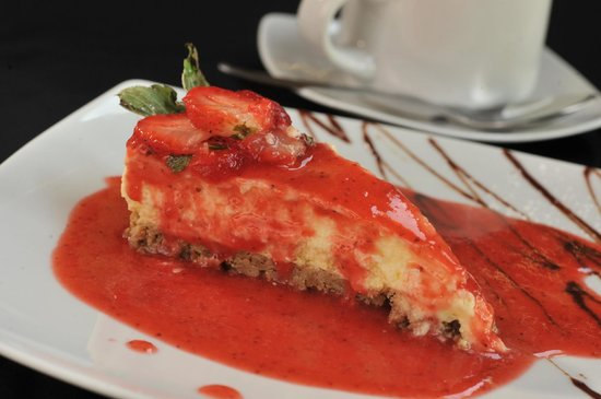 Oriental Grill: Cheesecake con Fresa