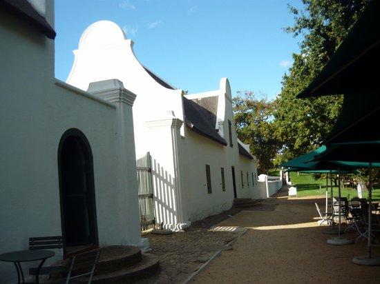 Jonkershuis Restaurant at Groot Constantia: esterno