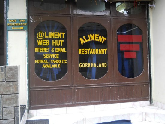 Aliment Hotel: Entrance