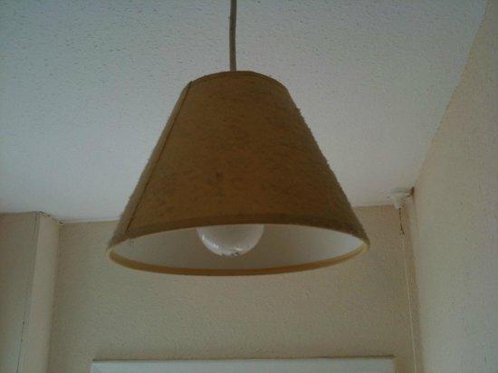 The Spyglass Inn: lampshade