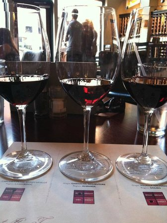 Red Red Wine Bar: Junot Wine Flight
