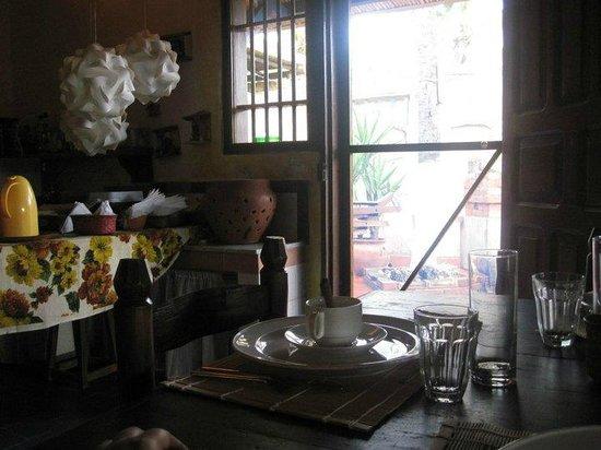 Posada Kanosta: Area colazioni