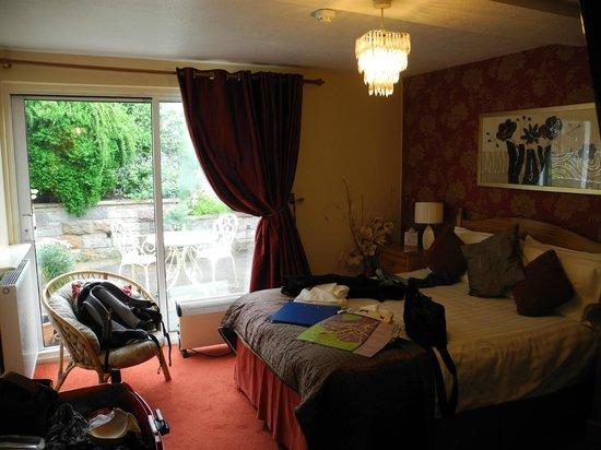 Castlecroft: Zimmer mit Terrasse, glaube das war Nummer 6