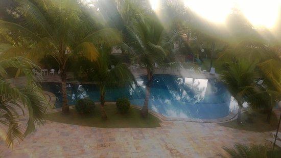 Comfort Suites Flamboyant : Pool view