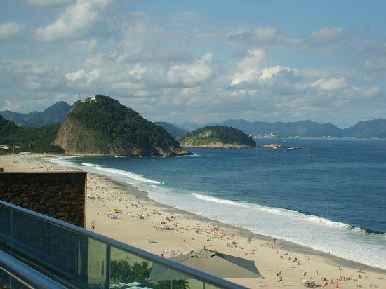 Arena Copacabana Hotel: Top Floor terrace view- WOW