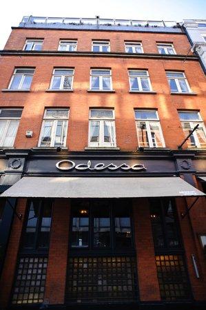 Odessa Club & Restaurant : Front