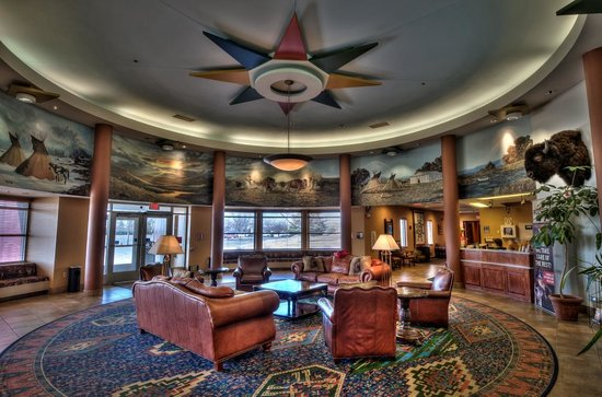 Flandreau, Dakota do Sul: Hotel Lobby