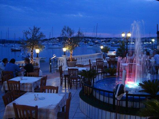 Rozos Restaurant: view porto