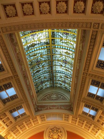 The Bank on College Green: Impressive ceiling