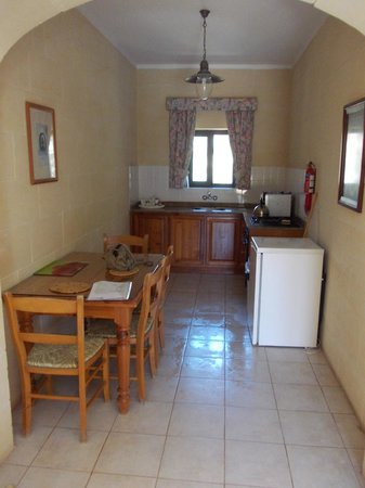 "Village Ta' Sbejha : Our kitchen area - ""Marie"" first floor"