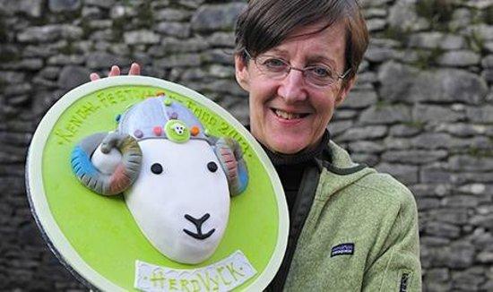 Herdy: Herdwick cake