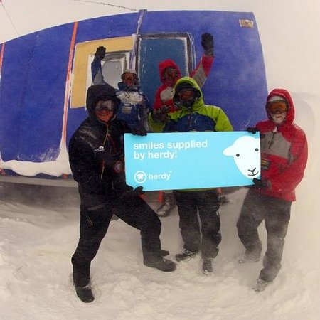 Herdy: Coldest journey team
