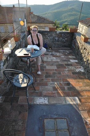 Antico Borgo: rooftop 360° terrace