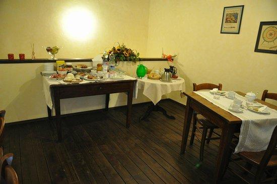 Antico Borgo: breakfast area