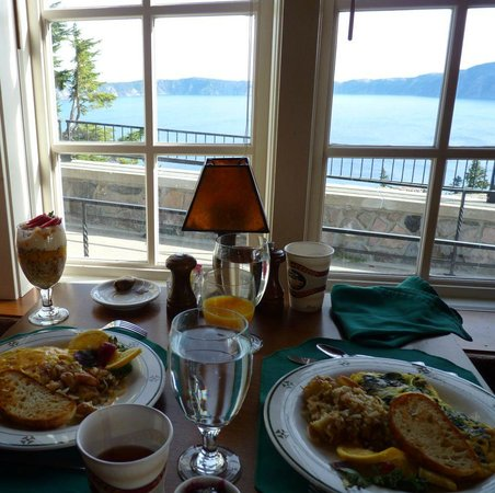 Breakfast At Crater Lake Lodge Picture Of