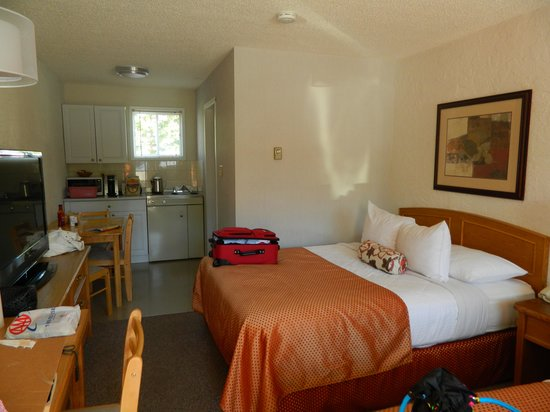 Crystal Springs Motel: great room.