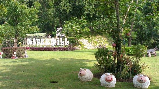 Watermill Resort: entrance