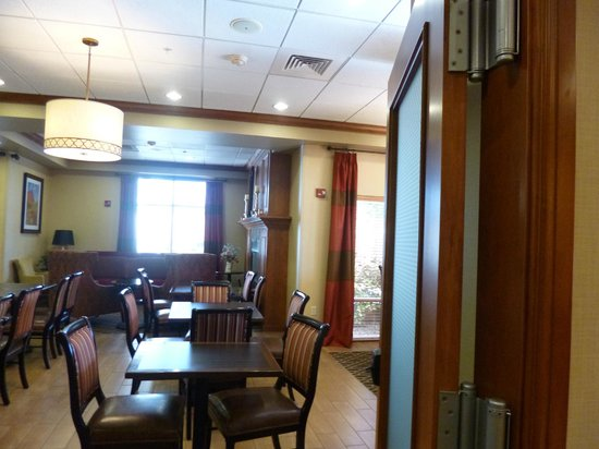 Hampton Inn Richfield: Breakfast Room