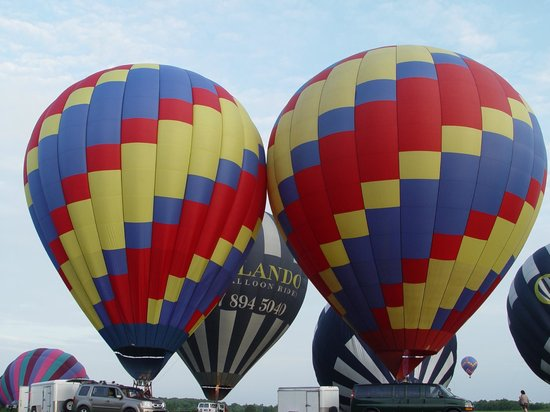 Balloons and Beyond: Balloons up and ready to take off