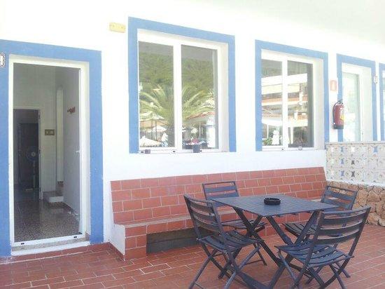 Cocomotion Apartaments : La terraza
