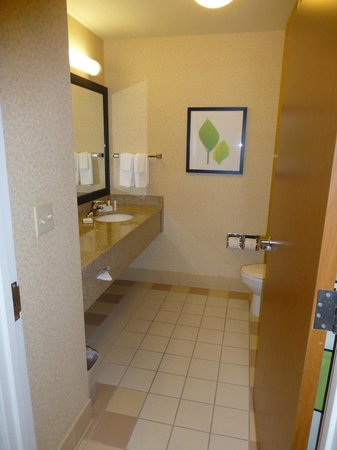 Fairfield Inn & Suites Roswell: Bathroom