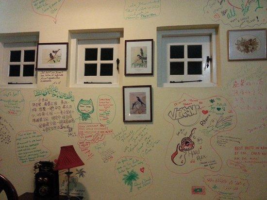 The Kandyan: стена отзывов