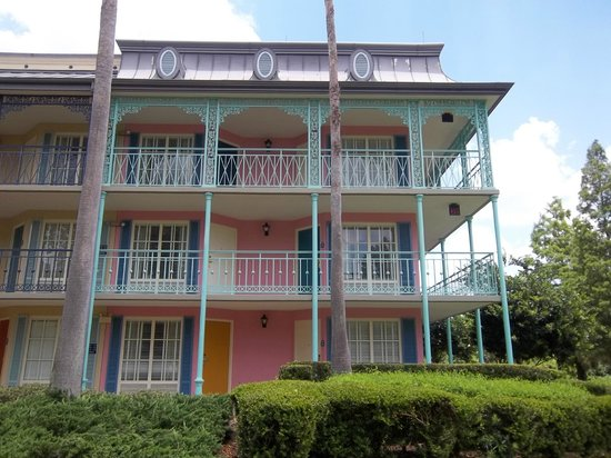 Disney's Port Orleans Resort - French Quarter: Our building