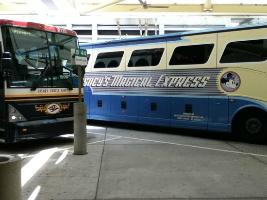 Disney's Port Orleans Resort - French Quarter: Disney's Magical Express from the Airport