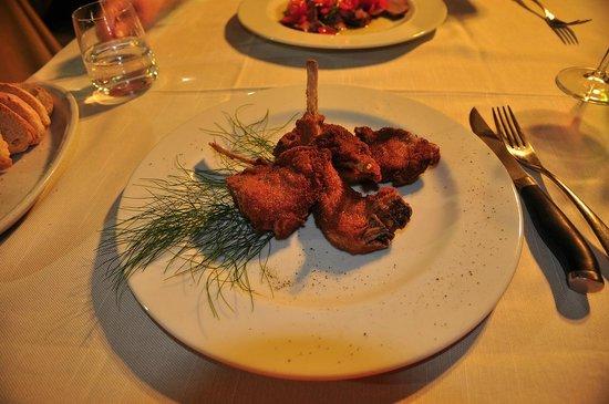 Enoteca Ristorante Il Vicolo: fried lamb