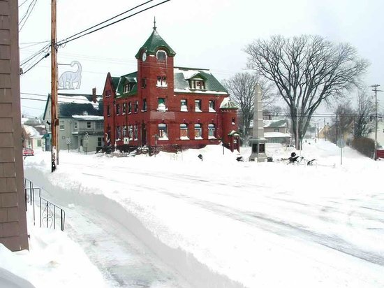 Main & Station Nonesuch Kickshaws: parrsboro Main & Station Winter