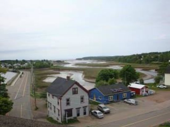 Main & Station Nonesuch Kickshaws: parrsboro view fro the roof - Main & Station  The tide is out