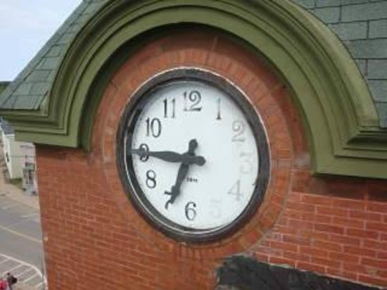 Main & Station Nonesuch Kickshaws: Parrsboro  Main & Station - clock face