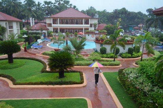 Radhika Beach Resort: view from room