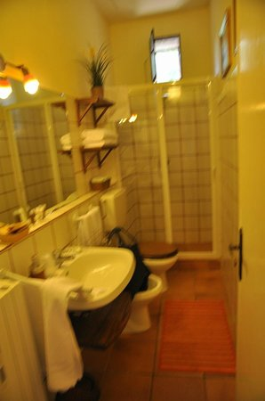 Podere Bellavista: bathroom