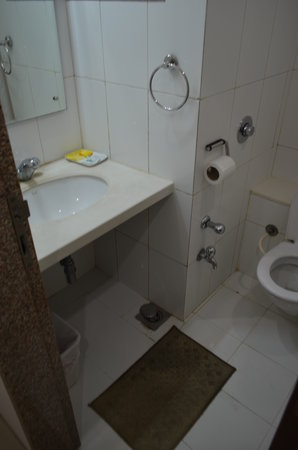 Hotel Harmony: Bathroom with leakages all around