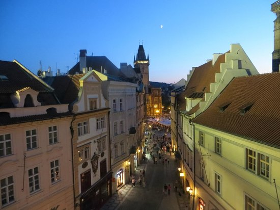 Ventana Hotel Prague: Wonderful view from our room