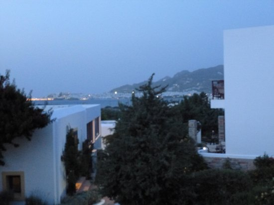 Naxos Palace Hotel: View from Balcony