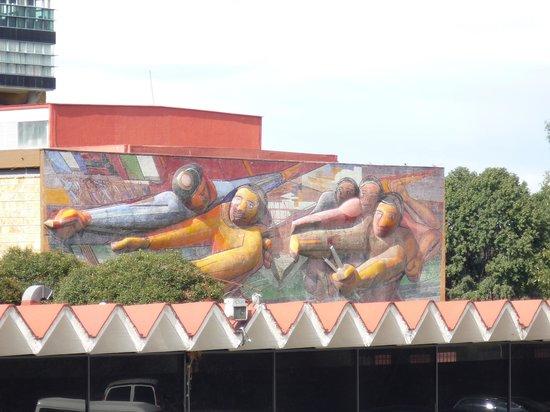 Ciudad Universitaria: Siqueiros