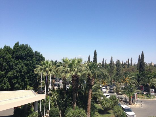 Hilton Cyprus: View from the balcony