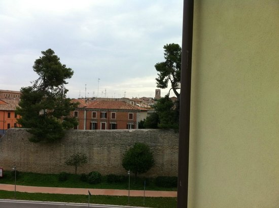 Siri Hotel: View of Fano from the room