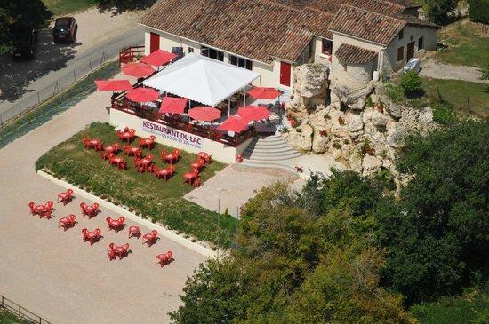 Saint-Clar, França: le restaurant du lac