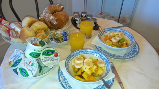 Il Ducato Di Ravello: beautiful and healthy breakfast