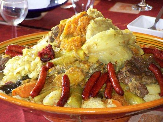 Domaine Caro: Couscous de Saida