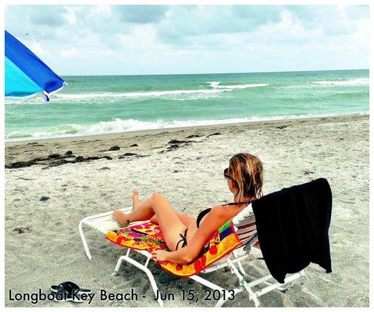SeaHorse Beach Resort: The beach