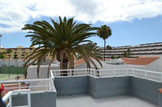 Sol Barbacan Hotel: vanaf het dakterras