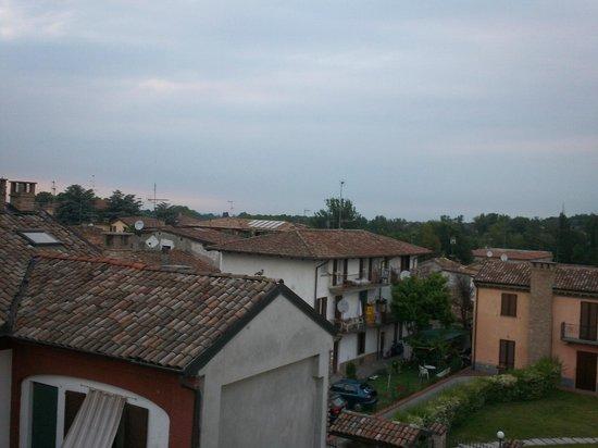 Hotel Clementi : Panorama dalla camera