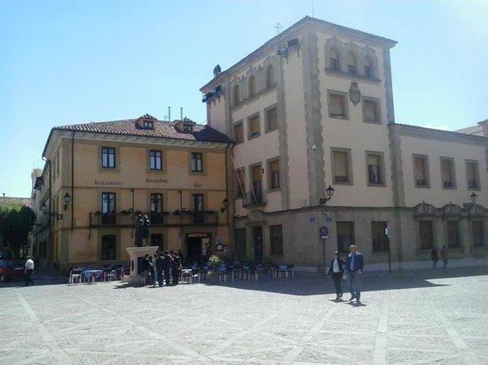 Hostal Restaurante Boccalino: Vista general de Bocalino
